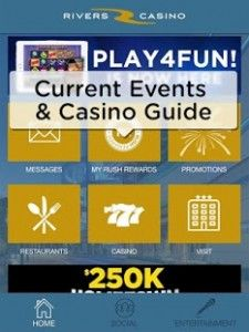 Rivers Casino Pittsburgh is a fun gambling app for Android that offers a lot more than just virtual casino games. Click the image for our full review.
