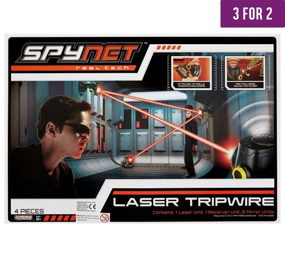 Buy SpyNet Laser Trip Wire at Argos.co.uk, visit Argos.co.uk to shop online for Discovery and science, Creative and science toys, Toys
