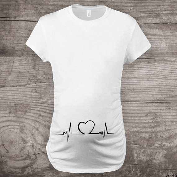 Personalized Valentines Day Maternity t-shirt by StoykoTs on Etsy
