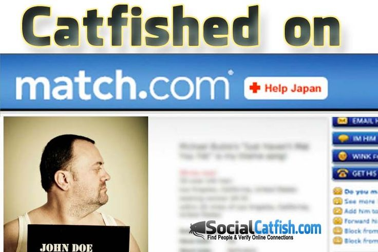 What is an online dating catfish