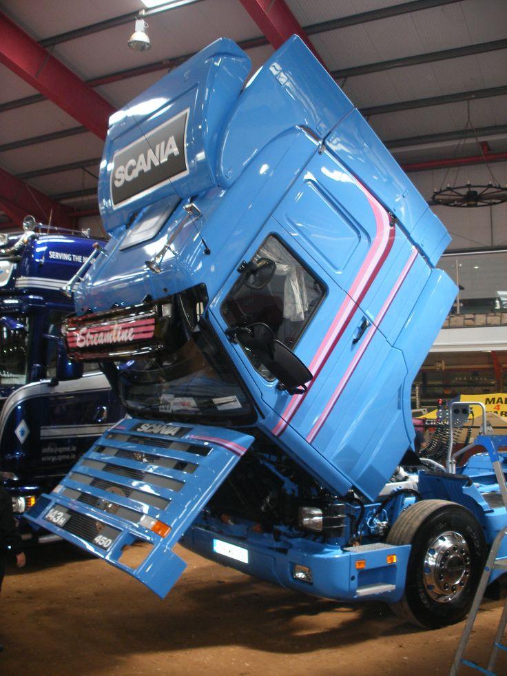 Restored 143 450 Streamline at The Full of the Pipe Truck Show - Cavan Ireland June 2015
