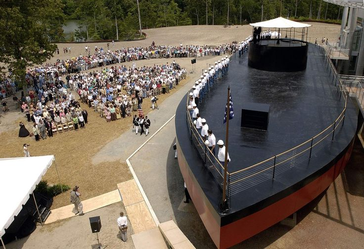 Full scale replica of the USS Monitor at the Mariners Museum and Park, Newport News, Va. [2048x1403]