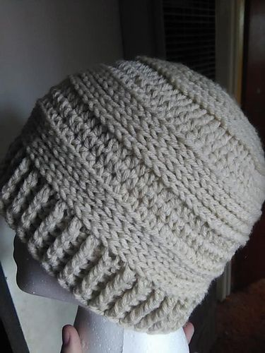 b864f89fb4ed6 Ravelry  Mock CC Messy Bun Hat pattern by Jessi Holzapple