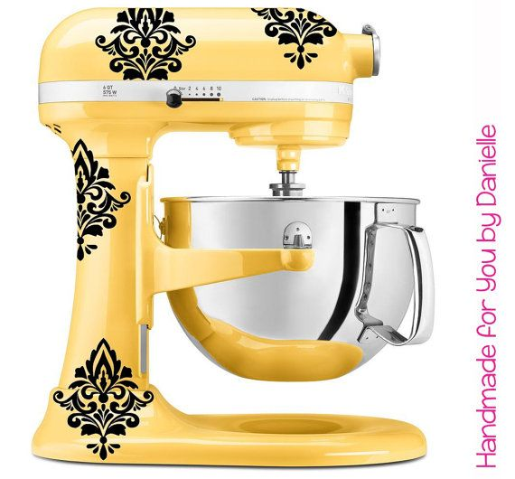 Kitchenaid Hand Mixer Decals ~ Best images about colorful mixers love on pinterest