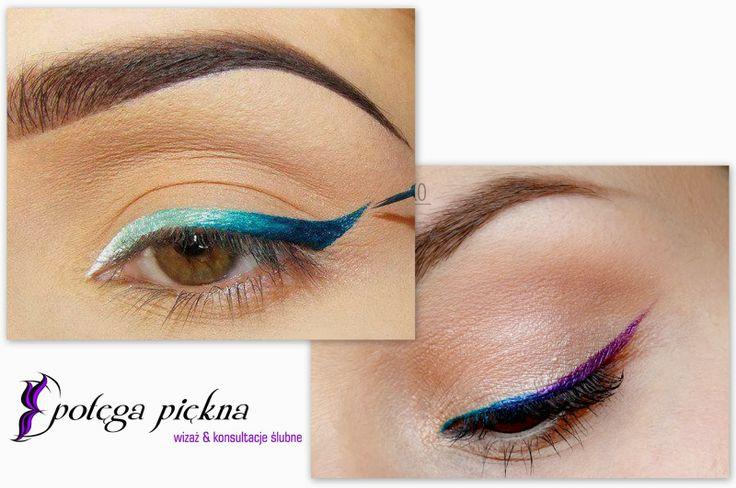 trend ombre - oczy