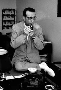 7 Mystery writers worth reading    File:Georges Simenon (1963) without hat by Erling Mandelmann.jpg