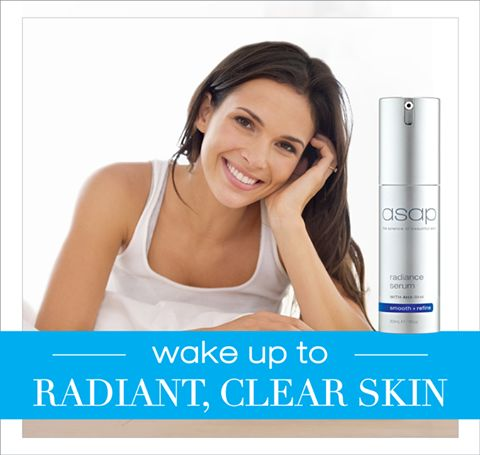 Do you want to wake up with radiant, clear skin every day? asap radiance serum combines a powerful AHA/BHA blend and a skin brightening botanical extract to increase cell renewal, rejuvenate skin and assist in the reduction of hyperpigmentation, sun damage and acne.