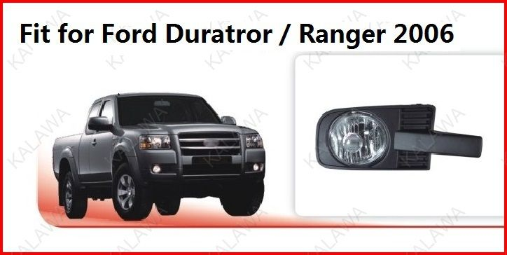 2x Dedicated 55W fog light Fog lamp case for Ford Duratror / Ranger 2006 with wire FD252 Freeshipping TTT