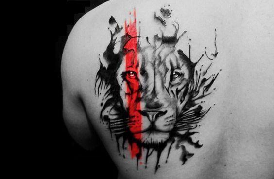 #tattooart #ink #lion