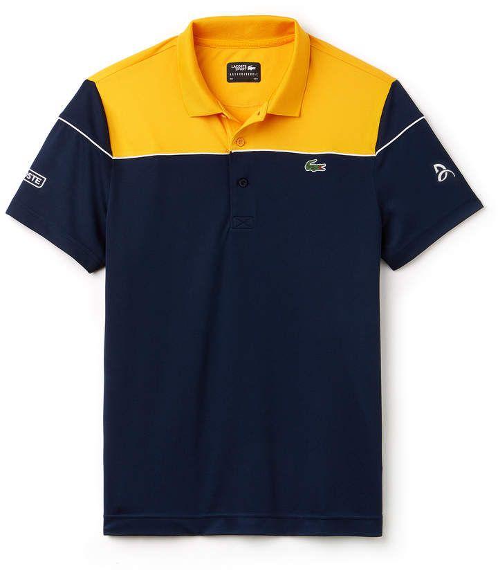 Men S Sport Tech Pique Polo Novak Djokovic Collection Polo T Shirt Design Mens Polo T Shirts Polo Shirt Design