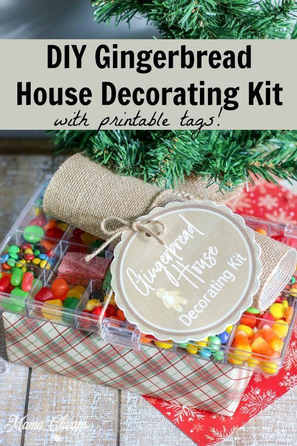 DIY Gingerbread House Decorating Kit Gift idea Mama