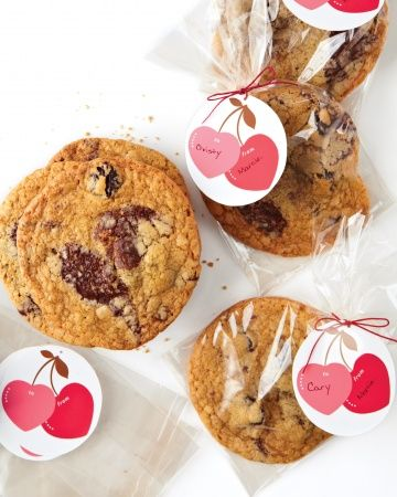 Cherry-Heart Tags... lovely for Valentine's!