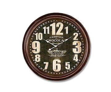 Настенные часы Chocolat - железо - Ш7хØ61
