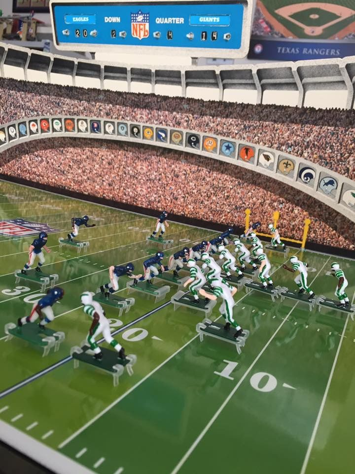 Electric Football Vintage Nfl Toys