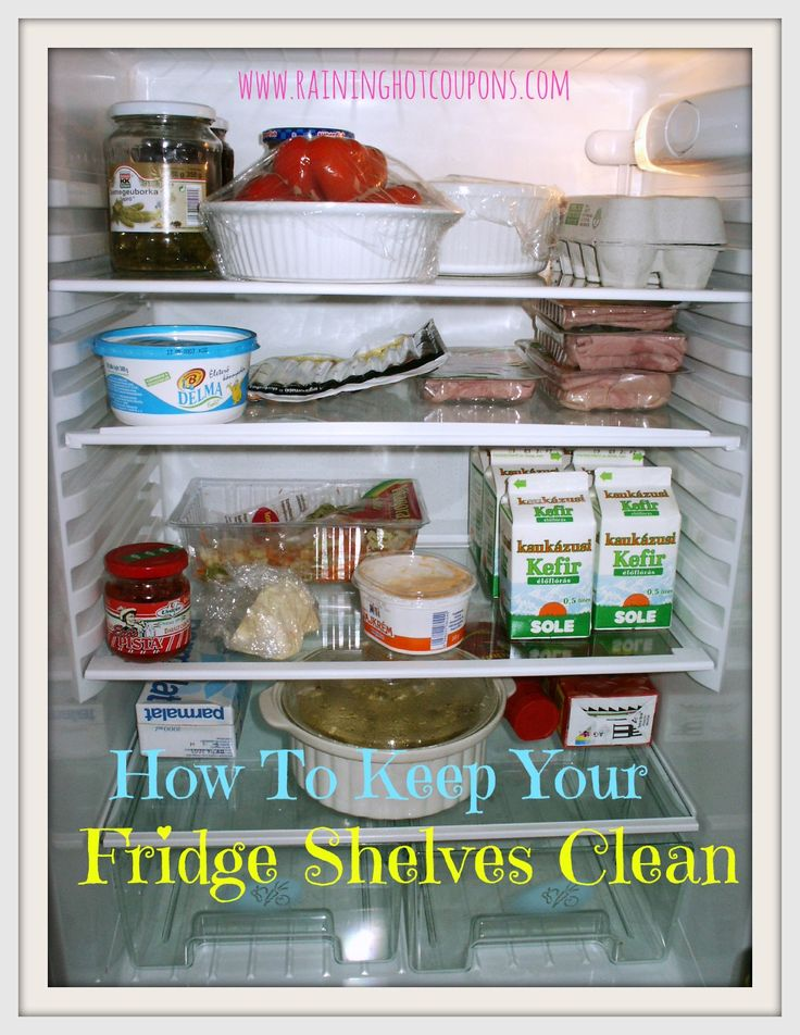 how to keep your fridge shelves clean initials wraps and 6 months. Black Bedroom Furniture Sets. Home Design Ideas