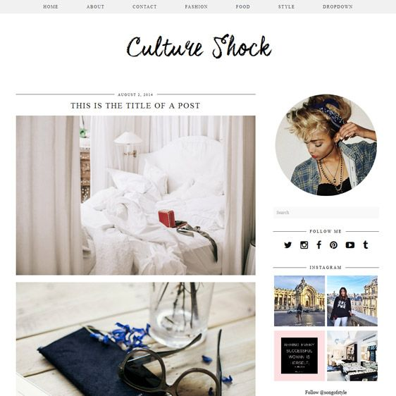 WordPress Theme: Culture Shock