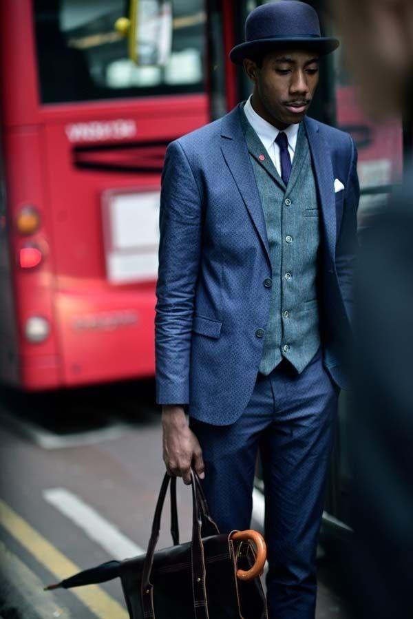 Dapper Men Suits with Vests