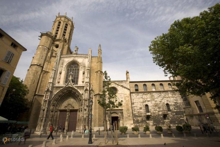 Собор Святого Спасителя – #Франция #Прованс #Экс_ан_Прованс (#FR_U) Кафедральный собор архиепархии Экс-ан-Прованса.  ↳ http://ru.esosedi.org/FR/U/1000235604/sobor_svyatogo_spasitelya/