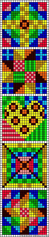 Perler bead patterns can provide inspiration for EPP quilts, if you can ignore the brightness of the colours and substitute your own.