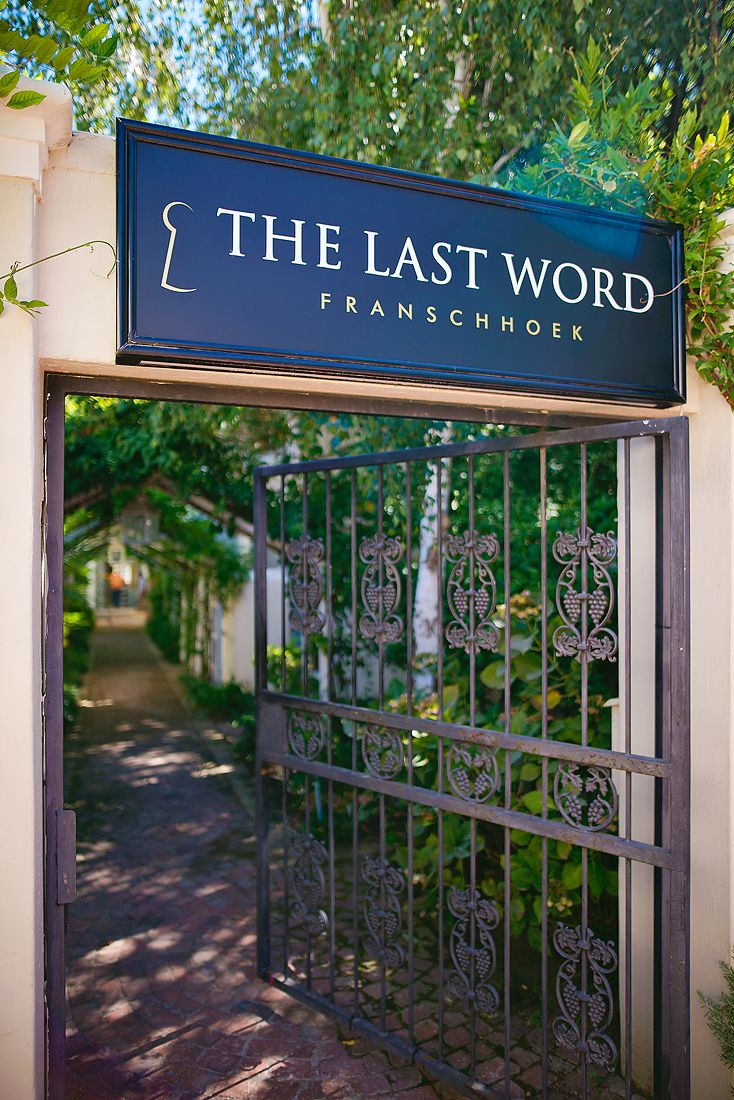 Welcome to The Last Word Franschhoek...