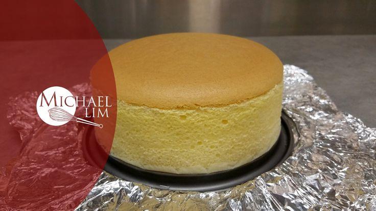 Japanese Cheese Cake (remake) - YouTube