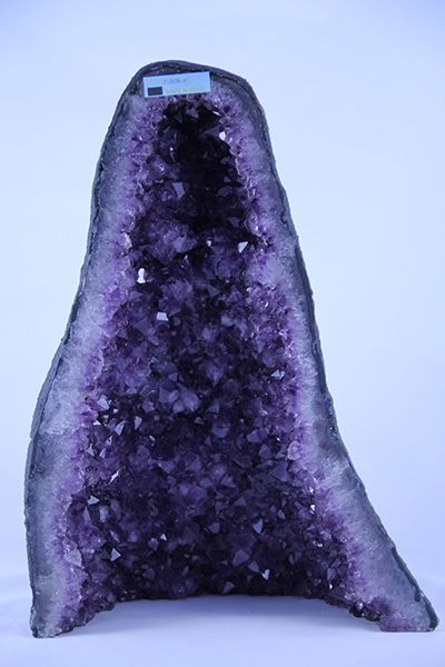 Amethyst Cathedral – 2 Notes: This is the product that you will receive. The weight of this product is 7.8 Kg. Crystal Type: Amethyst, Quartz Crystal Details: Amethyst is the purple variety of Quartz. The purple colouration is due to ferrous iron impurities. Amethyst is found worldwide. Chemical Composition: SiO2 minor Fe4 impurities Weight: 7.8 Kg Average Size: 350mm Average Quantity Per Pack: 1 Read More