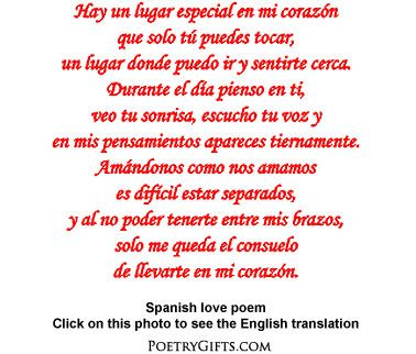 how to write a spanish poem that rhymes