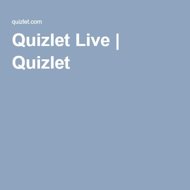 Quizlet Live | Quizlet | Learn english, Game codes, Student