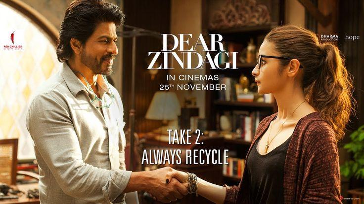 Watch the second teaser of Dear Zindagi Take 2of Shahrukh Khan & Alia Bhatt upcoming movieDear Zindagi directed byGauri Shinde