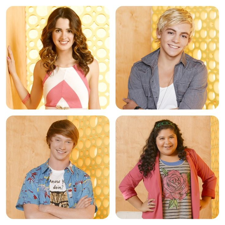 austin and ally cast dating pretty