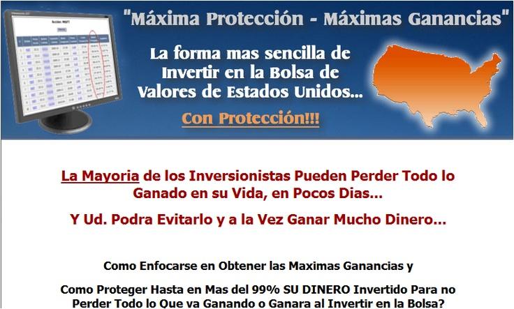 Invertir en bolsa, una muy buena manera de ganar dinero en bolsa. No temas a la crisis y empieza a ganar dinero en la bolsa, ibex, forex, etc. http://invertir--enbolsa.blogspot.com.es/