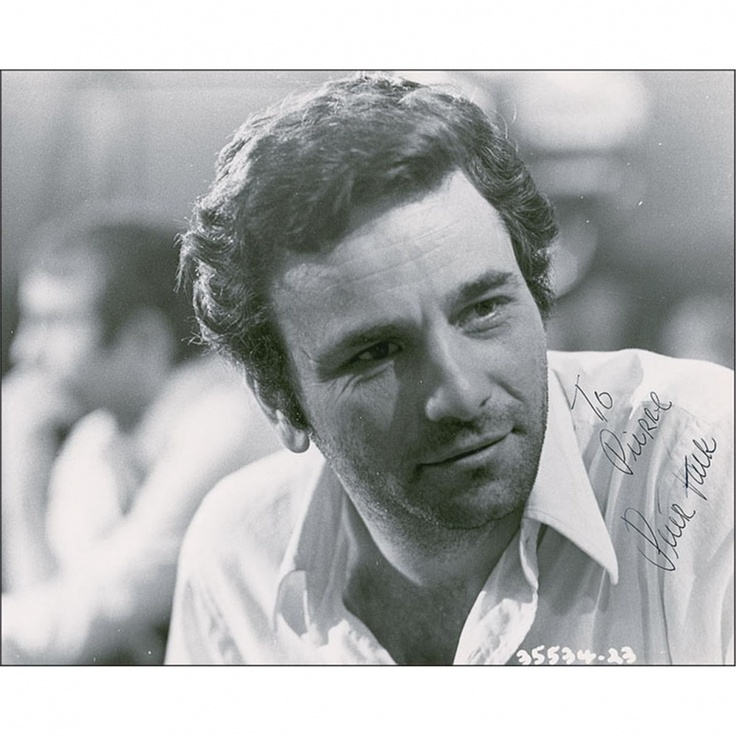 Peter Falk.  i loved him before columbo