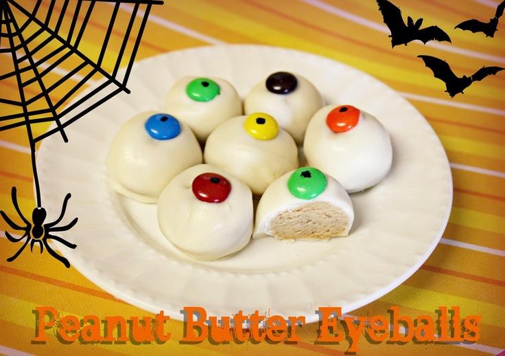 Peanut Butter Eyeballs