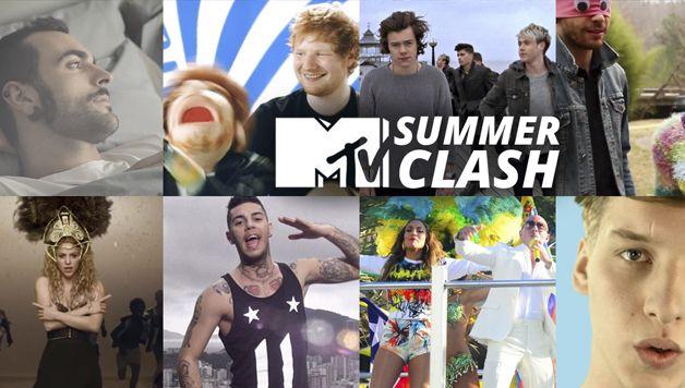 MTV SUMMER CLASH 2014, DAI ONE DIRECTION A EMIS KILLA E MARCO MENGONI, ECCO I 16 FINALISTI!