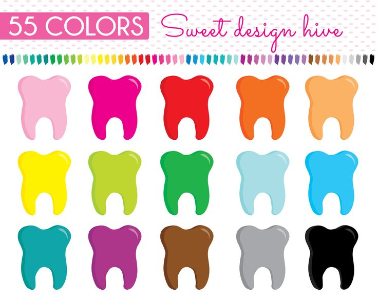 Tooth Clipart, teeth clipart, Dentist appointment, reminder teeth, dentist reminder, tooth reminder, Rainbow, Planner Stickers, PL0112 by Sweetdesignhive on Etsy