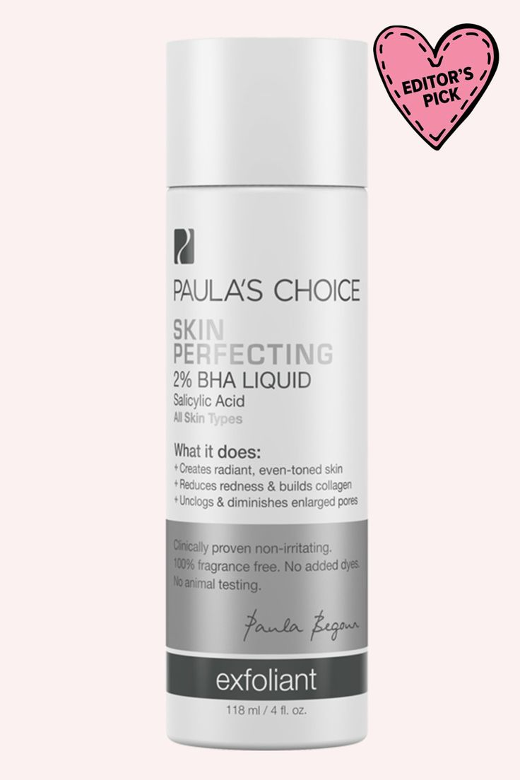 Paula's Choice Skin Perfecting 2% BHA Liquid.