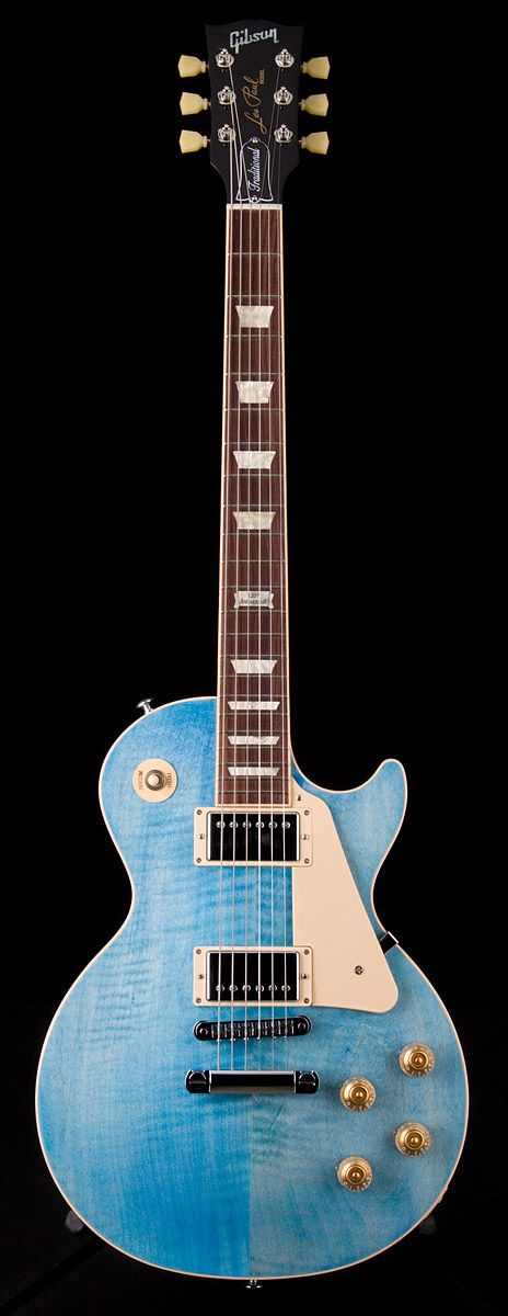 2014 Gibson Les Paul Traditional in Ocean Blue