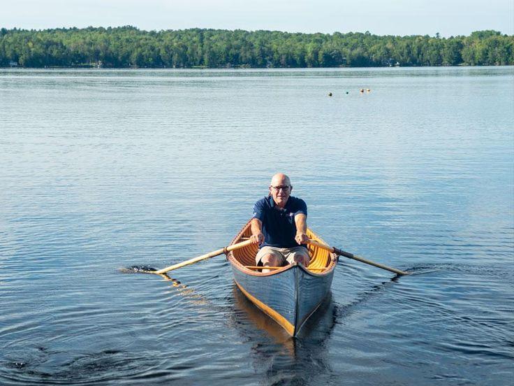 Can you row a canoe canoe flat bottom boats boat