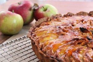 Tarte aux Pommes et aux Fruits Secs