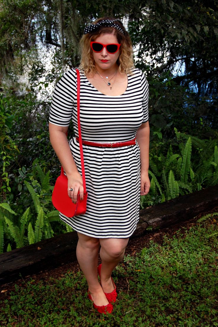 Stripes, red accessories