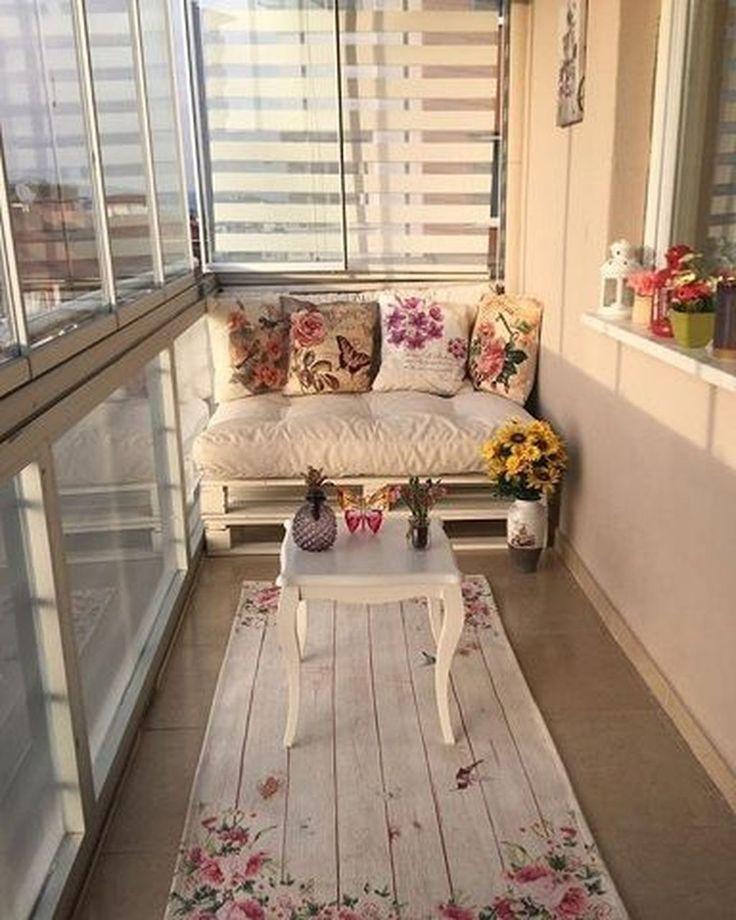 unglaublich 42 Kleine Dekoideen für den Balkon