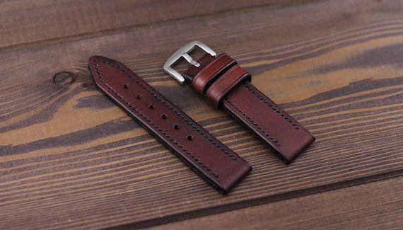 Handmade brown cognac watch strap   #watch #watchstrap #leatherwatchstrap #watchband #leather #mrhaidukoff #watchgeek #watchnerd #watchuseek #leatherworks #wirstshot #wirstwatch