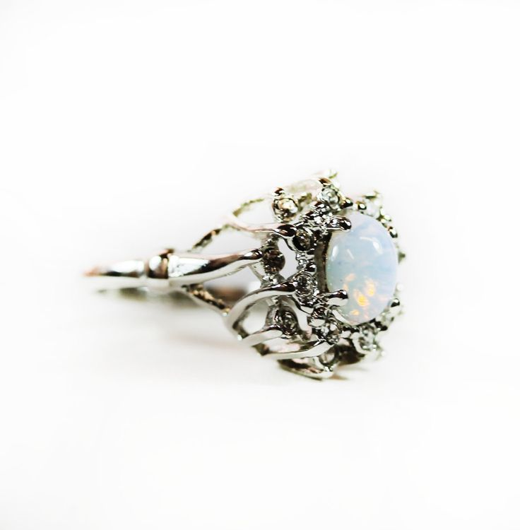 Victorian Vintage Opal Ring promise ring