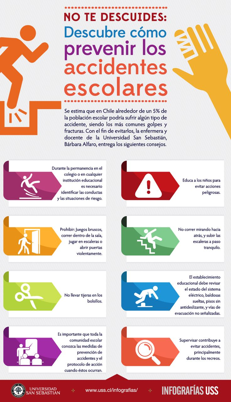 Cómo prevenir los accidentes escolares