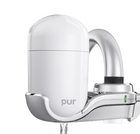 PUR 3-Stage Vertical Faucet Mount Gray FM-4100B