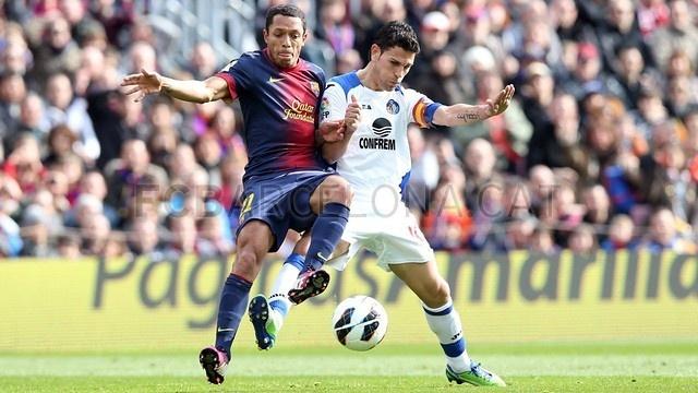 Adriano, FC Barcelona | 2013-02-10 BARCELONA 6-1 GETAFE.