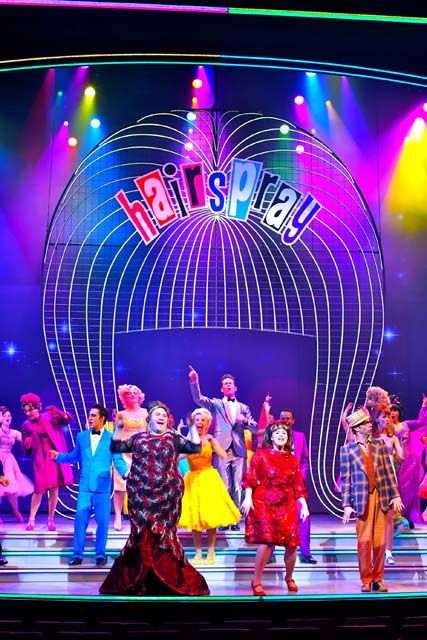 hairspray musical lighting - Google Search