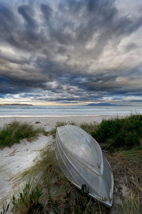 So Beautiful! Ocean view, cloudy sky, beach, sand, water, boat, silence, beauty of Nature, photo