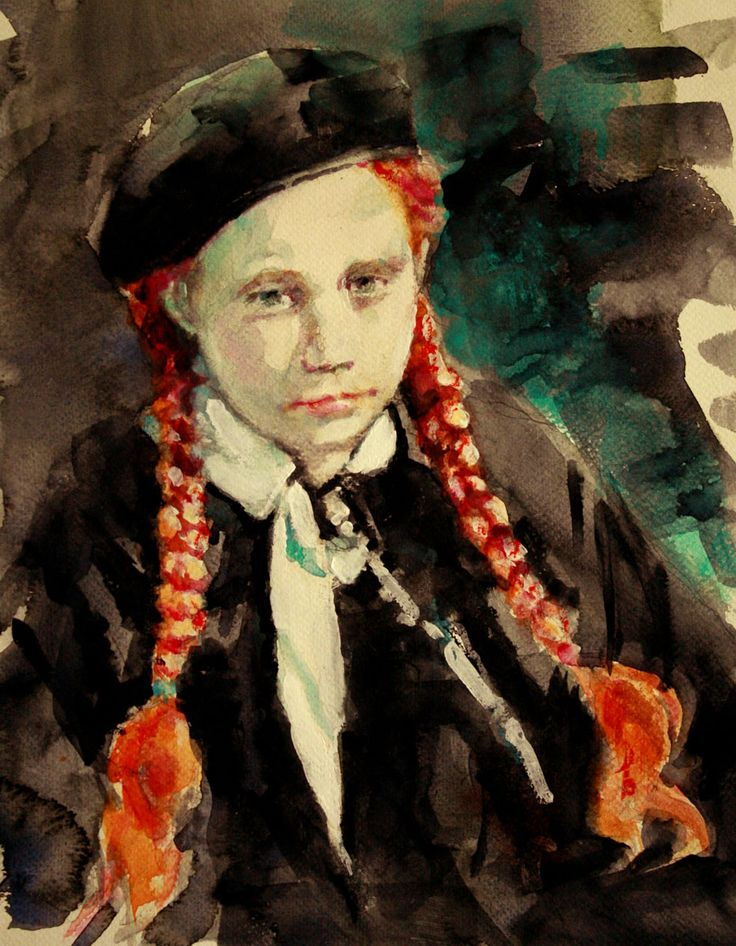 """Fred Bidigare - """"Girl With the Black Beret"""""""