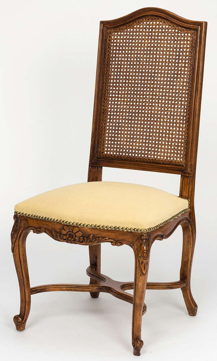 French Cane Tall High Back Dining Chairs Set Of 8 Part 48